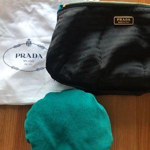 4f81b98dfcbc96 Prada Bags | Evening Clutch In Aquamarine | Poshmark